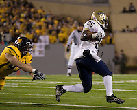 01 December 2007: LeSean McCoy (runner)..The Pitt Panthers upset the West Virginia Mountaineers 13-9 on December 01, 2007 in the 100th edition of the Backyard Brawl at Mountaineer Field, Morgantown, West Virginia.