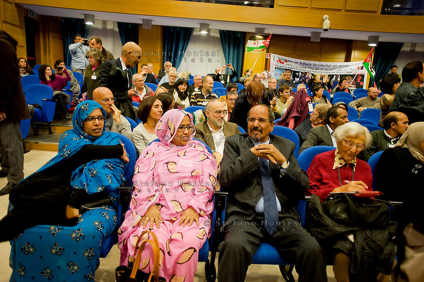 Roma 16 Novembre 2013<br />  Il  presidente della Repubblica araba Sahrawi Mohamed Abdelaziz, alla giornata conclusiva  del 38&deg; EUCOCO, conferenza Europea di Coordinamento dei Comitati di solidariet&agrave; con il popolo sahrawi,  alla  sede  della Regione Lazio  a Roma.<br /> Rome November 16, 2013<br />  The President of the Sahrawi Arab Republic Mohamed Abdelaziz, for the final day of the 38th EUCOCO, European Conference of Coordination Committees of solidarity with the Saharawi people, the headquarters  of   the Region of Lazio in Rome