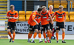St Johnstone v Dundee United...27.08.11   SPL Week 5.Barry Douglas celebrates United's first goal.Picture by Graeme Hart..Copyright Perthshire Picture Agency.Tel: 01738 623350  Mobile: 07990 594431