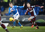 St Johnstone v Stenhousemuir&hellip;21.01.17  McDiarmid Park  Scottish Cup<br />David Wotherspoon and Vincent Berry<br />Picture by Graeme Hart.<br />Copyright Perthshire Picture Agency<br />Tel: 01738 623350  Mobile: 07990 594431