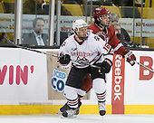 Kyle Kraemer (NU - 16), ? - The Northeastern University Huskies defeated the Harvard University Crimson 4-1 (EN) on Monday, February 8, 2010, at the TD Garden in Boston, Massachusetts, in the 2010 Beanpot consolation game.