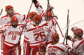 Brandon Hickey (BU - 4), Gabriel Chabot (BU - 10), Oskar Andrén (BU - 26), Shane Switzer (BU - 2) The Boston University Terriers defeated the visiting Yale University Bulldogs 5-2 on Tuesday, December 13, 2016, at the Agganis Arena in Boston, Massachusetts.