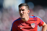 San Diego, CA - Sunday January 29, 2017: Sacha Kljestan prior to an international friendly between the men's national teams of the United States (USA) and Serbia (SRB) at Qualcomm Stadium.