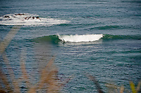 Only a couple of guys out at this spot...A small ground swell kicks in - Wellington, New Zealand 15th March 2010