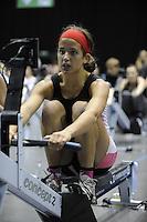 Birmingham, Great Britain, Women's J16  Rosa ATKINSON, Runcorn, at the 2008 British Indoor Rowing Championships, National Indoor Arena. on  Sunday 26.10.2008 . [Photo, Peter Spurrier/Intersport-images] ..