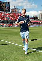 August 18, 2012: Sporting KC midfielder Oriol Rosell #20 in action during the warm-up in an MLS game between Toronto FC and Sporting Kansas City at BMO Field in Toronto, Ontario Canada..Sporting Kansas City won 1-0.