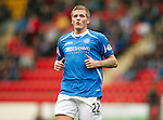 St Johnstone FC...Season 2011-12.Willie Gibson.Picture by Graeme Hart..Copyright Perthshire Picture Agency.Tel: 01738 623350  Mobile: 07990 594431
