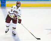 Tim Filangieri (Boston College - Islip Terrace, NY) takes part in warmups. The Michigan State Spartans defeated the Boston College Eagles 3-1 (EN) to win the national championship in the final game of the 2007 Frozen Four at the Scottrade Center in St. Louis, Missouri on Saturday, April 7, 2007.