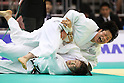 (L to R) Sayaka Anai (JPN), Akari Ogata (JPN), .May 12, 2012 - Judo : .All Japan Selected Judo Championships, Women's -78kg class Semifinal .at Fukuoka Convention Center, Fukuoka, Japan. .(Photo by Daiju Kitamura/AFLO SPORT) [1045]