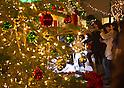Christmas Illumination Display in Tokyo