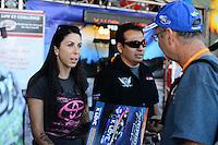 26-28 October, 2012, Las Vegas, Nevada USA, Alexis DeJoria, Patron, Tony Pedregon, K-Love, Toyota Camry, pit pass @2012, Mark J. Rebilas