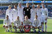 USA Women vs Italy November 27 2010