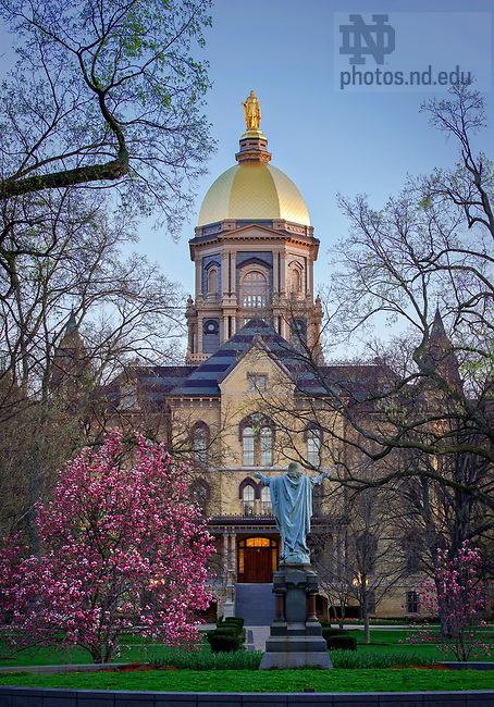 Dome in Spring, 2010.<br /> <br /> Photo by Matt Cashore/University of Notre Dame