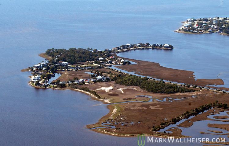 Live Oak Island In Coastal Wakulla County Near Crawfordville South Of Tallahassee Florida