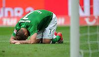 FUSSBALL   1. BUNDESLIGA   SAISON 2012/2013   3. SPIELTAG Hannover 96 - SV Werder Bremen     15.09.2012 Marko Arnautovic (SV Werder Bremen) ist enttaeuscht
