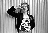 TRUST - Bernie Bonvoisin - Nov 1979.  Photo credit: Veuige/Dalle/IconicPix