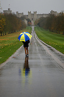 The Long Rainy Walk at Windsor Castle