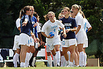 12 September 2009: North Carolina's Meghan Klingenberg (4). The University of North Carolina Tar Heels defeated the Texas A&M University Aggies 2-0 at Fetzer Field in Chapel Hill, North Carolina in an NCAA Division I Women's college soccer game.