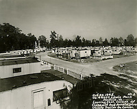 1945 October 20..Historical..VA 44077 Lewis Park.Looking East, Corner of Chenault and Arnold Drives.Utility Trailer on corner...NEG#.NRHA#..