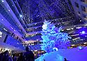 47.6-foot-tall Christmas tree at Marunouchi's Kitte building