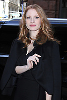 NEW YORK, NY - MARCH 21: Jessica Chastain seen on March 21, 2017 in New York City. Credit: RW/MediaPunch