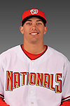 14 March 2008: ..Portrait of Luis Atilano, Washington Nationals Minor League player at Spring Training Camp 2008..Mandatory Photo Credit: Ed Wolfstein Photo