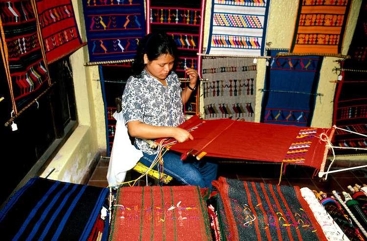 Mexico: Mazatlan..Weaver. .Photo copyright Lee Foster, www.fostertravel.com. .Photo #: mxmaza104, 510/549-2202, lee@fostertravel.com
