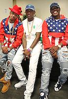NEW ORLEANS, LA - JULY 3, 2016 Suga J, Fabolous & Mase backstage at Essence Festival at Mercedes Benz Superdome, July 3, 2016 in New Orleans, Louisiana. Photo Credit: Walik Goshorn / Media Punch