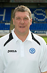 St Johnstone FC Season 2012-13 Photocall.Asst Manager Tommy Wright.Picture by Graeme Hart..Copyright Perthshire Picture Agency.Tel: 01738 623350  Mobile: 07990 594431