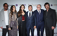 NEW YORK, NY April .18, 2017 Chris Cornell, Angela Sarafayan, Charlotte Le Bon, Oscar Isaac, Terry George and Christian Bale attend Survival Pictures and Open Road in partnership with Ambassador Zohrab Mnatsakanyan, Permanent Representative of Armenia to the United Nations host a special screening of The Promise  at the Paris Theatre in New York April 19,  2017. <br /> CAP/MPI/RW<br /> &copy;RW/MPI/Capital Pictures