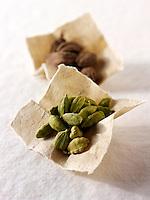 Black & green Cardomom seeds