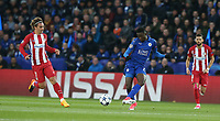 Leicester City's Wilfred Ndidi<br /> <br /> Photographer Stephen White/CameraSport<br /> <br /> UEFA Champions League Quarter Final Second Leg - Leicester City v Atletico Madrid - Tuesday 18th April 2017 - King Power Stadium - Leicester <br />  <br /> World Copyright &copy; 2017 CameraSport. All rights reserved. 43 Linden Ave. Countesthorpe. Leicester. England. LE8 5PG - Tel: +44 (0) 116 277 4147 - admin@camerasport.com - www.camerasport.com