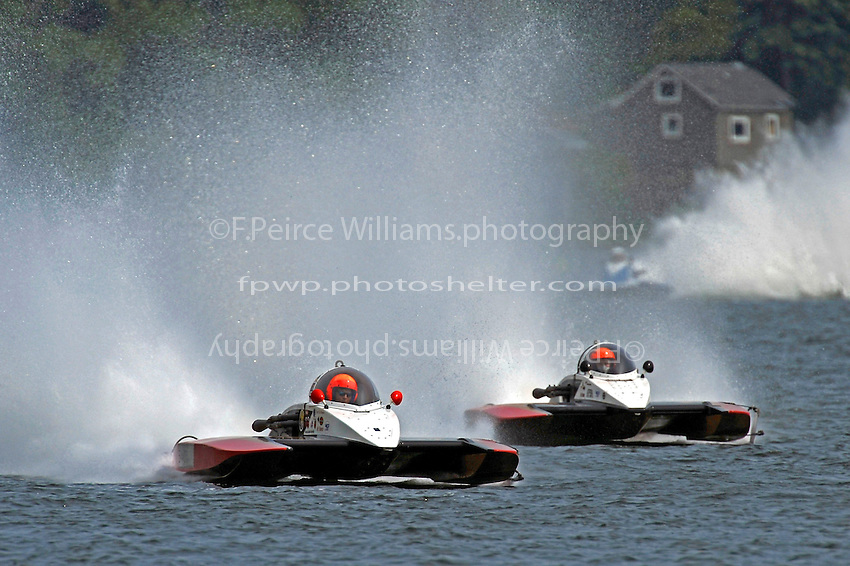 """Tom Thompson, A-52 """"Fat Chance Too"""" and Andrew Tate, A-25 """"Fat Chance""""  (2.5 MOD class hydroplane(s)"""
