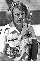 INDIANAPOLIS, IN - May 29: Tyler Alexander led the crew for driver Johnny Rutherford's McLaren M24 1/Cosworth TC at the Indianapolis 500 on May 29, 1977, at the Indianapolis Motor Speedway.