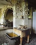 The Bakery Section of the Abandoned Buck Hill Falls Inn in the Pocono's in Pennsylvania