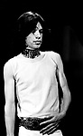 Rolling Stones 1969 Mick Jagger at Top Of The Pops<br /> &copy; Chris Walter