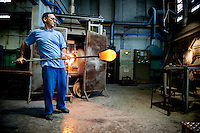 Italy - Murano - Glass Blowers