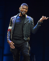 Usher performs at the AmericanAirlines Arena FL