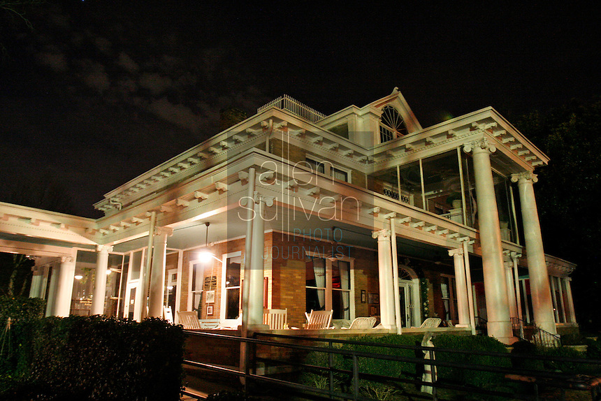 Several members of the West Georgia Paranormal Research Society spent the night at the Green Manor Restaurant in Union City, Ga. on Saturday night, Jan. 20, 2007 to investigate activity. People have said the ghost of a woman, Florence Westbrook, is active in the historic home.
