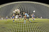 SAN ANTONIO, TX - SEPTEMBER 5, 2014: The McNeese University Cowgirls fall to the University of Texas at San Antonio Roadrunners 4-3 at the UTSA Park West Athletics Complex. (Photo by Jeff Huehn)