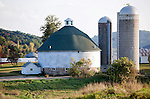 .Round Barn County Rd Q .5 miles south of Hillsboro.