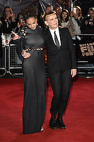 LONDON, ENGLAND. October 7, 2016: Sasha Lane and director Andrea Arnold at the London Film Festival premiere for &quot;American Honey&quot; at the Odeon Leicester Square, London.<br /> Picture: Steve Vas/Featureflash/SilverHub 0208 004 5359/ 07711 972644 Editors@silverhubmedia.com