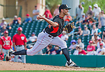 10 March 2015: Miami Marlins pitcher Steve Cishek on the mound during Spring Training action against the Washington Nationals at Roger Dean Stadium in Jupiter, Florida. The Marlins edged out the Nationals 2-1 on a walk-off solo home run in the 9th inning of Grapefruit League play. Mandatory Credit: Ed Wolfstein Photo *** RAW (NEF) Image File Available ***