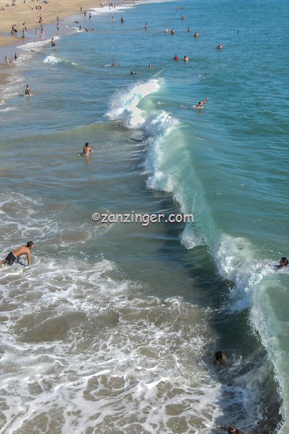Seal Beach, Seal Beach; CA; LA; Beach; Pier, Sunset, Orange County, Ocean Waves, Long Beach; CA; Southern California; USA;  Waterfront, California