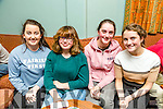 Enjoying the Table Quiz in aid of the Girl Guides at the Na Gaeil on Friday were Emma Sheehy, Aina O'Sullivan, Ashley Gutteridge and Mary Fitzpatrick