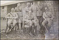 BNPS.co.uk (01202 558833)<br /> Pic: HAldridge/BNPS<br /> <br /> ***Please Use Full Byline***<br /> <br /> Expedition leader Col Younghusband(centre) with Capt Hayman(right) and other officers.<br /> <br /> The vendor also had a series of old pictures from the controversial Younghusband expedition.<br /> <br /> A man who took an old silver teapot along to TV's Flog It is celebrating today after it led to a record 140,000 pounds sale.<br /> <br /> Experts on the BBC show valued the item, that originated from the Far East, at 120 pounds, prompting the owner to reveal he had five other heirlooms at home.<br /> <br /> After digging the relics out he sold them at auction for the six figure sum, setting a record for the highest amount ever achieved on the popular programme.<br /> <br /> The show is very much like the Antiques Roadshow except that people go on to sell their treasures at auction which is also filmed by the Beeb.<br /> <br /> The unnamed owner took the 12ins tall teapot along to a valuation day held last month at Longleat House, Wilts.