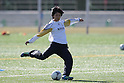 Akari Shiraki (JPN), ..FEBRUARY 12, 2012 - Football / Soccer : Nadeshiko Japan team training Wakayama camp at Kamitonda Sports Center in Wakayama, Japan. (Photo by Akihiro Sugimoto/AFLO SPORT) [1080]