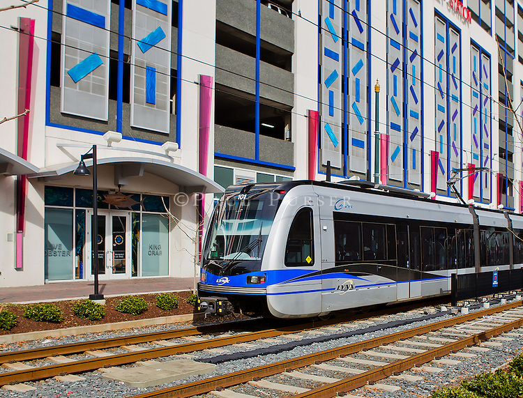 for Charlotte Area Transit System, runs throught uptown Charlotte NC ...