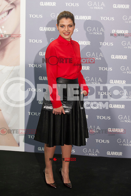 Thais Blume poses for the photographers during TOUS presentation in Madrid, Spain. January 21, 2015. (ALTERPHOTOS/Victor Blanco) /NortePhoto<br />