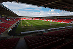 Doncaster Rovers Belles 1 Chelsea Ladies 4, 20/03/2016. Keepmoat Stadium, Womens FA Cup. Interior view of The Keepmoat Stadium Doncaster. Photo by Paul Thompson.